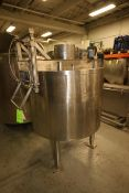 Advanced Process Technoloogy Inc. Aprox. 200 Gal. S/S Processor, M/N A-150, S/N A-150-DM-VS3, 150