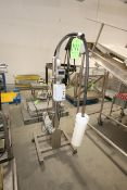 Boston Gear 1/2 hp Barrel Stirrer, Mounted on S/S Portable Frame, with Speed Control (LOCATED IN