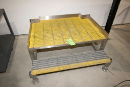 """S/S Platform, with Plastic Grating, Overall Dims.: Aprox. 48"""" W x 44"""" L (LOCATED IN YOUNGSTOWN,"""