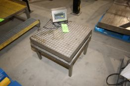 """WeighTronix S/S Platform Scale, with Aprox. 24"""" L x 24"""" W S/S Platform, with Digital Read Out ("""
