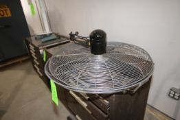 Industrial Fan, with S/S Framing (LOCATED IN YOUNGSTOWN, OH) (Rigging, Handling & Site Management