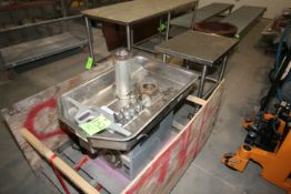 Hobart S/S Auger Grinder, M/N 4732, S/N 1889998, 220 Volts, 1 Phase, with S/S Table (LOCATED IN