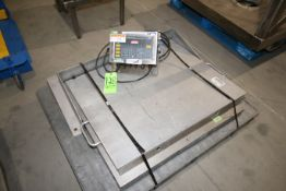 """WeighTronix S/S Platform Scale, with Aprox. 36"""" L x 36"""" W S/S Platform, with Digital Read Out,"""