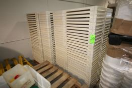 """Plastic Trays, Internal Dims.: Aprox. 28"""" L x 14"""" W (LOCATED IN YOUNGSTOWN, OH) (Rigging, Handling &"""