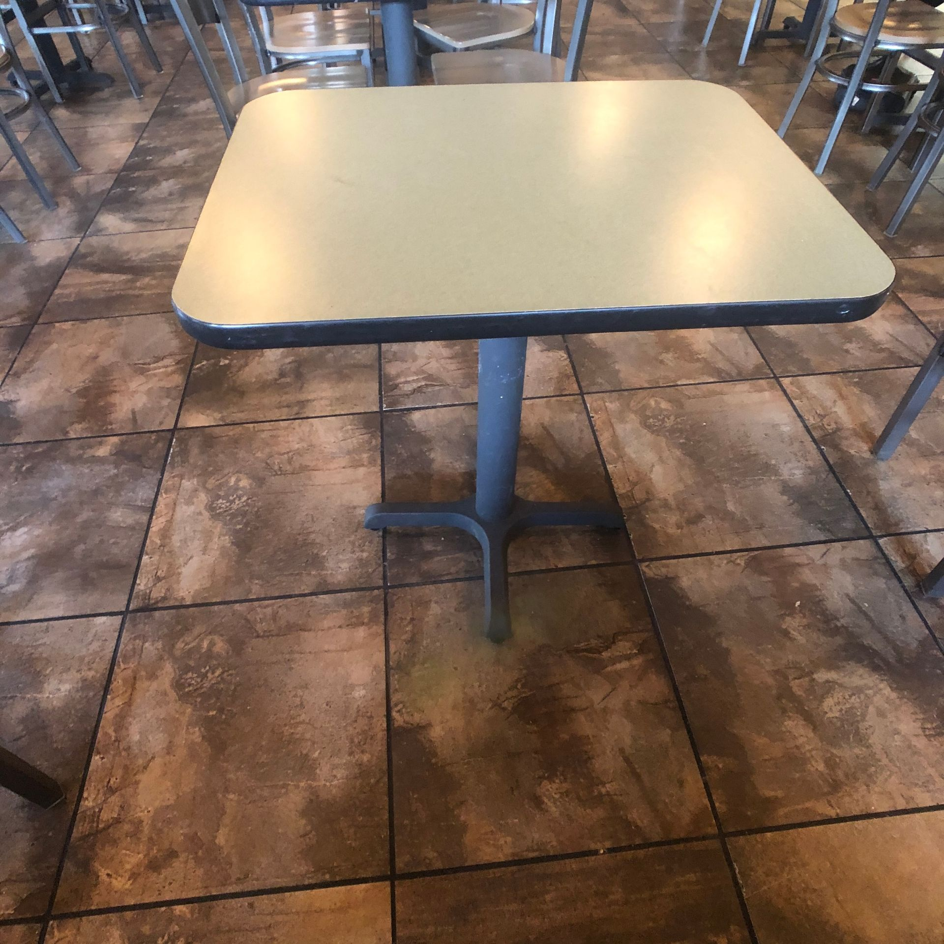 """(5) 2-Person Tables with (10) Walsh Simmons Seating Chairs, Approx. 2'6"""" L x 24"""" W - Image 4 of 5"""