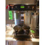 Bunn (2) Pot Coffee Maker, Model ICB-Twin, 120/208 SST, S/N ICBT022349