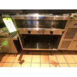 Randell Open Base Electric Hot Food Table, Model 3612-208, S/N W1041763-1, (2) Pan