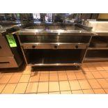 "Randell Open Base Electric Hot Food Table, Model 3613-240, S/N W1041760-1, 48"" W x 33"" D x 36"" H"