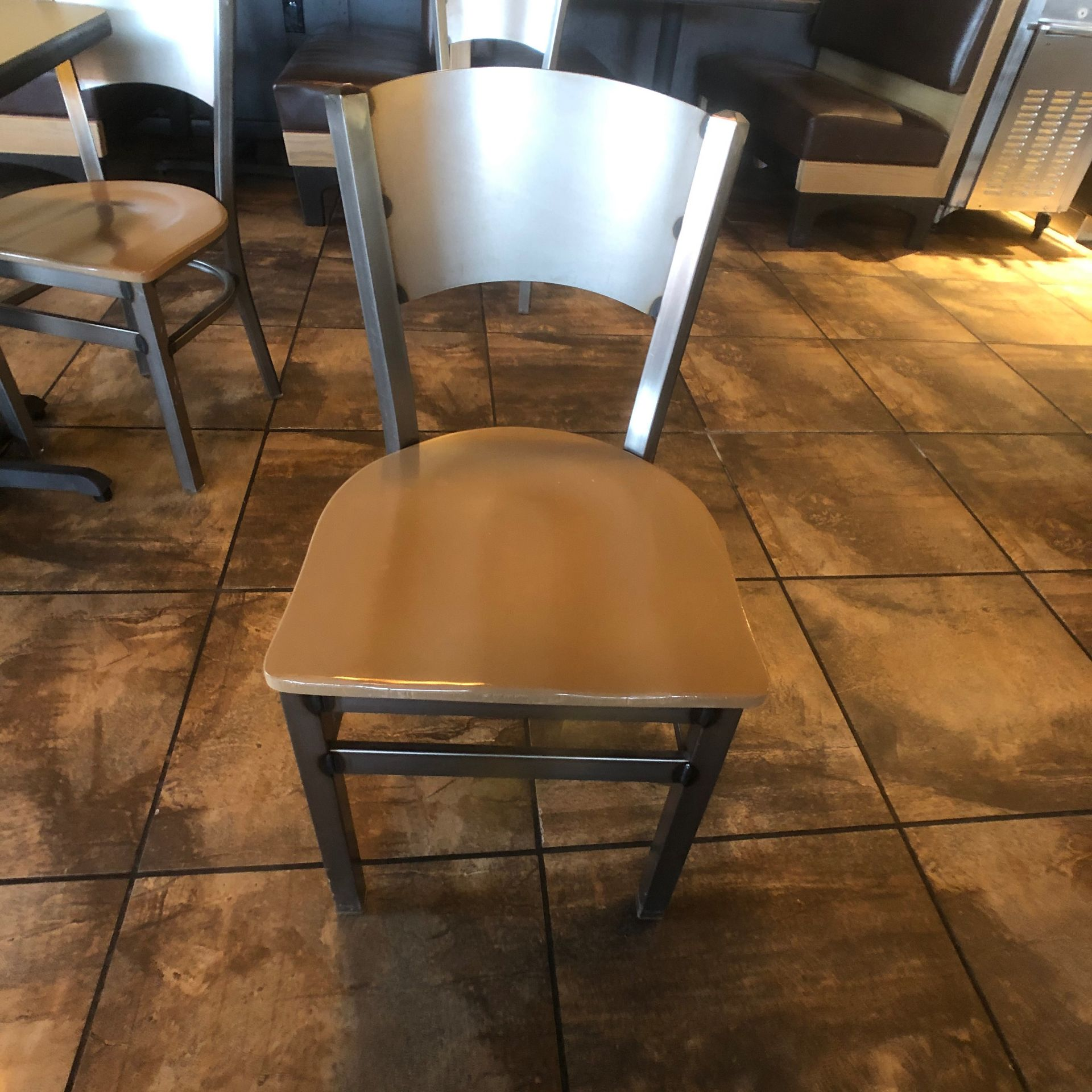 """(5) 2-Person Tables with (10) Walsh Simmons Seating Chairs, Approx. 2'6"""" L x 24"""" W - Image 3 of 5"""