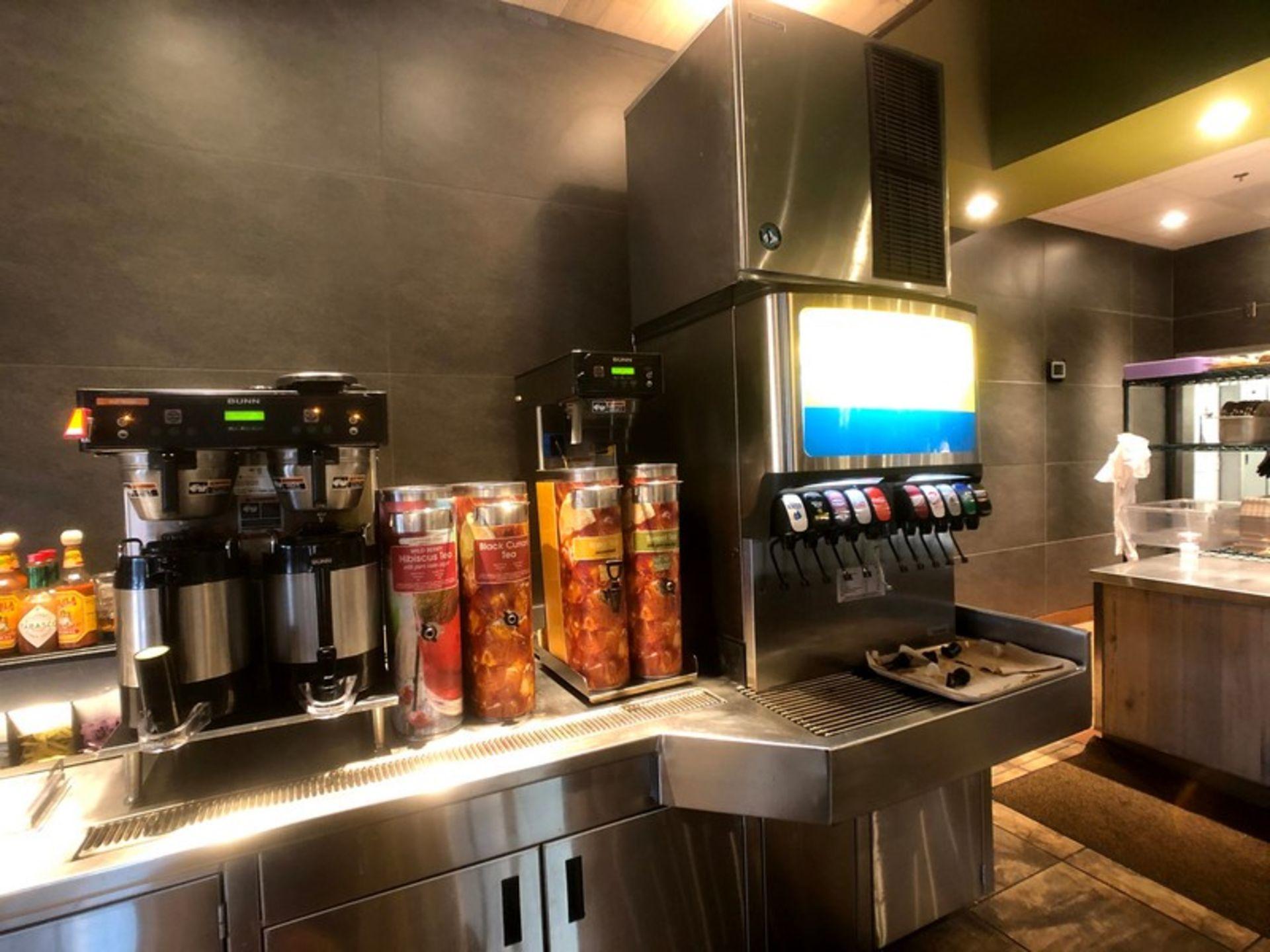 Manitowoc Beverage Systems 10-Valve Soft Drink Dispenser, Model SV250, S/N 610202454, with Hoshizaki - Image 9 of 10