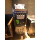 Donper Soft Serve Ice Cream Machine, Model D900H, Chocolate / Vanilla / Swirl, 2 Qt Freezing