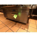 Randell FX Series Single Door Chef Base Refrigerator with Worktop, Model FX-1CS, S/N F825818-1,