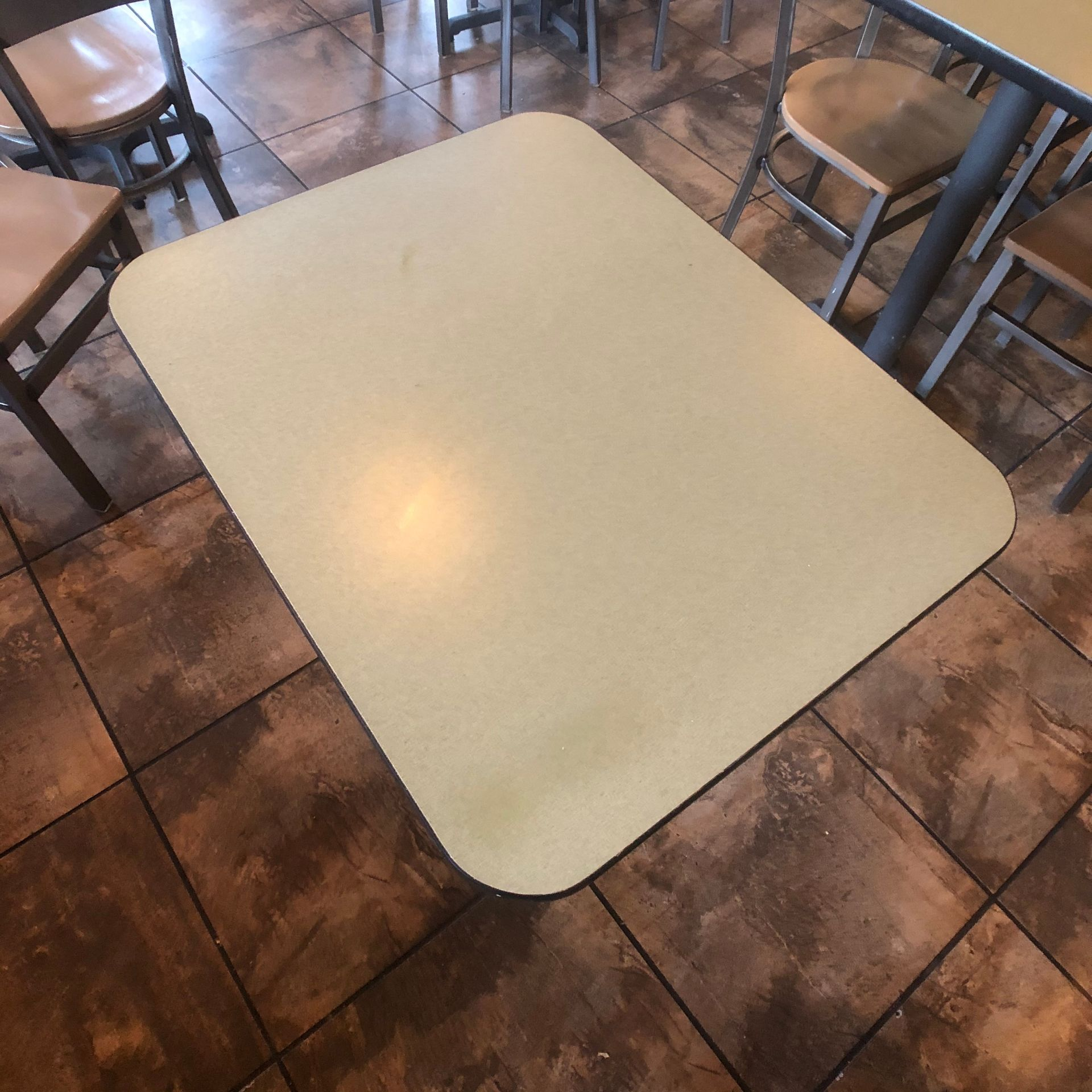 """(5) 2-Person Tables with (10) Walsh Simmons Seating Chairs, Approx. 2'6"""" L x 24"""" W - Image 2 of 5"""