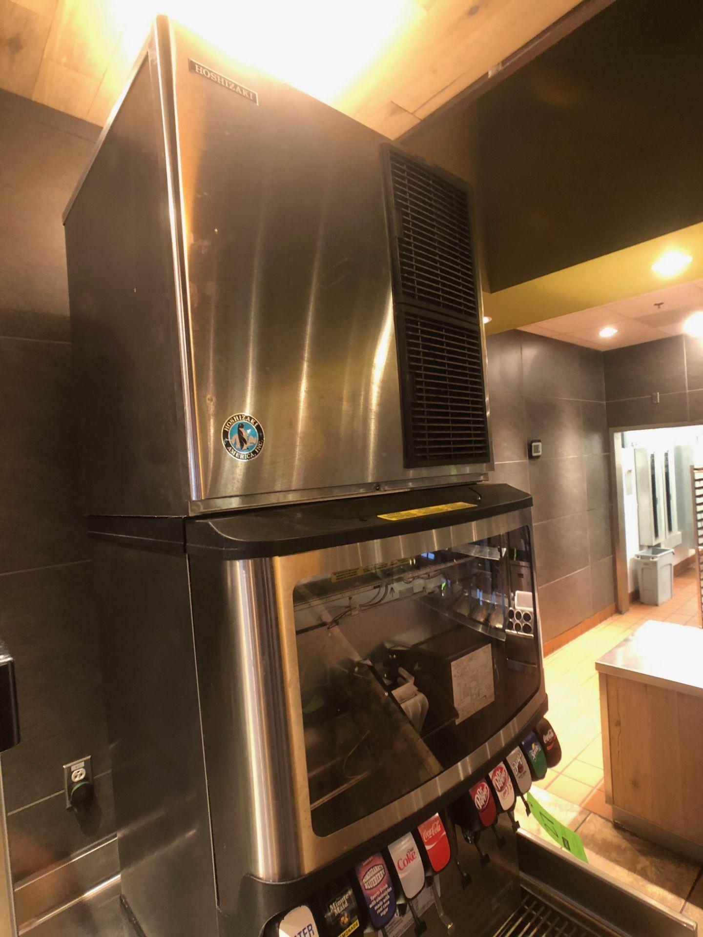 Manitowoc Beverage Systems 10-Valve Soft Drink Dispenser, Model SV250, S/N 610202454, with Hoshizaki - Image 5 of 10