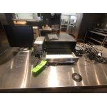 Cash Register, Includes (2) Cash Drawers, Monitor, Ground Guard, Ametek Powervar Power Conditioner
