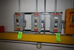 Safety Switches, Wall Mounted (LOCATED IN DEIONIZED WATER SYSTEM ROOM)