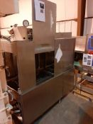 Hobart CRS66A Stainless Steel Auto Time Dishwasher, Model CRS66A, S/N 12-131-119, Owner Item
