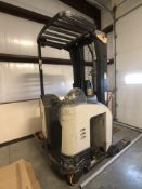 Crown S700 RR Series Reach Truck / Narrow-Aisle Forklift, S/N 1A373171, Missing Battery, (Located in