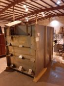 Douglas Machines 2048-15 Rack Wash with Racks, Model 2048-15, S/N , (Located