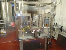 Orics Industries Rotary Cup Filler, Model R-50 2006, S/N KRINOS4502, 60 Cups Per Minute, Includes
