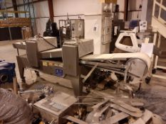 """Topos Mondial Automatic Dough Sheeter 15"""" Wide, Model , S/N , Owner Item Number , (Located in"""