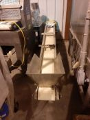 """Smooth Top Belt Conveyor 9.5"""" Wide x 60"""" Long, Model , S/N , Owner Item Number , (Located in Sioux"""