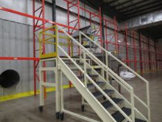 Portable Mezzanine, Previously Used with Kason Sifter in Lot 21A and Ribbon Blender in Lot 21(
