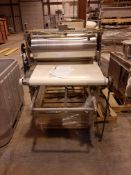 Stainless Steel Automatic Inline Dough Sheeter, Model , S/N , Owner Item Number , (Located in