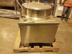 Market Forge MT40E0 Jacketed 40 Gallon Kettle, Model MT40E0, S/N , Owner Item Number 13, (Located in