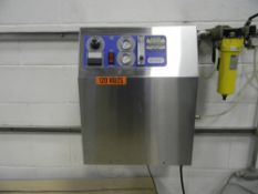 Pacific Ozone Generator, Model: SGA21, Serial Number: 7588, Floating Plate Technology™