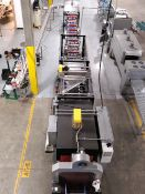 Arpac's Intermittent Motion Lane Divider & Model 45TW-28-RH Tray Wrapper