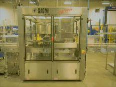 Sarcmi Opera Rotary Pressure Sensitive Labeler, Model: AD 9T S1/E1, Serial Number: 813,
