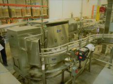 Bevco Bottle Washer / Drier, Model: MT Washer w/ Drying Tunnel, Wet Rinser Wash Tunnel Model: WT