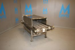 Enclosed S/S Conveyor, Toshiba 0.5 hp S/S Clad Drive, with Internal Spray System, Aprox. 6 ft. L x
