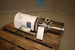Cherry-Burrell 5 hp Centrifugal Pump, M/N AHK-1, S/N 3948, with 3450 RPM Motor, 208-230/460 Volts,