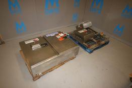STI Double Door S/S Control Panel, with Allen Bradley ControlLogix 17-Slot PLC, Cat. No. 1756-PA75/