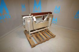 Goring Kerr Straight Section of Aluminum Conveyor, M/N 48AL3INTAB, S/N 5632/2380, Aprox. 4 ft. L x