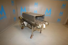 E-Quip Enclosed S/S Conveyor, M/N 238, Factory No.: 8636-S-6, with Baldor 3/4 hp Drive, with