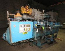 FES 400 hp Screw Ammonia Compressor, MainFrame 1982, Frame #80236, with Stellar 2011 Rebuilt Screw