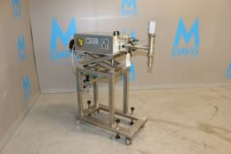 Comas S/S Dosing Pump, Matricola: 2489, Year: 1996, with Adjustable S/S Scissor Frame, with S/S