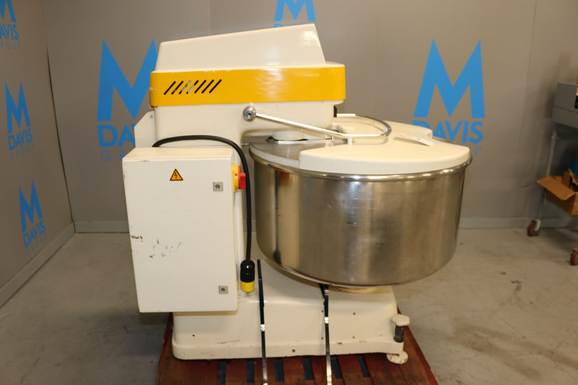 """Lot 55 - Kemper S/S Spiral Mixer, Type: SP 125 B, Date-Code: C2 6724540, with Aprox. 35"""" Dia. S/S Bowl with"""