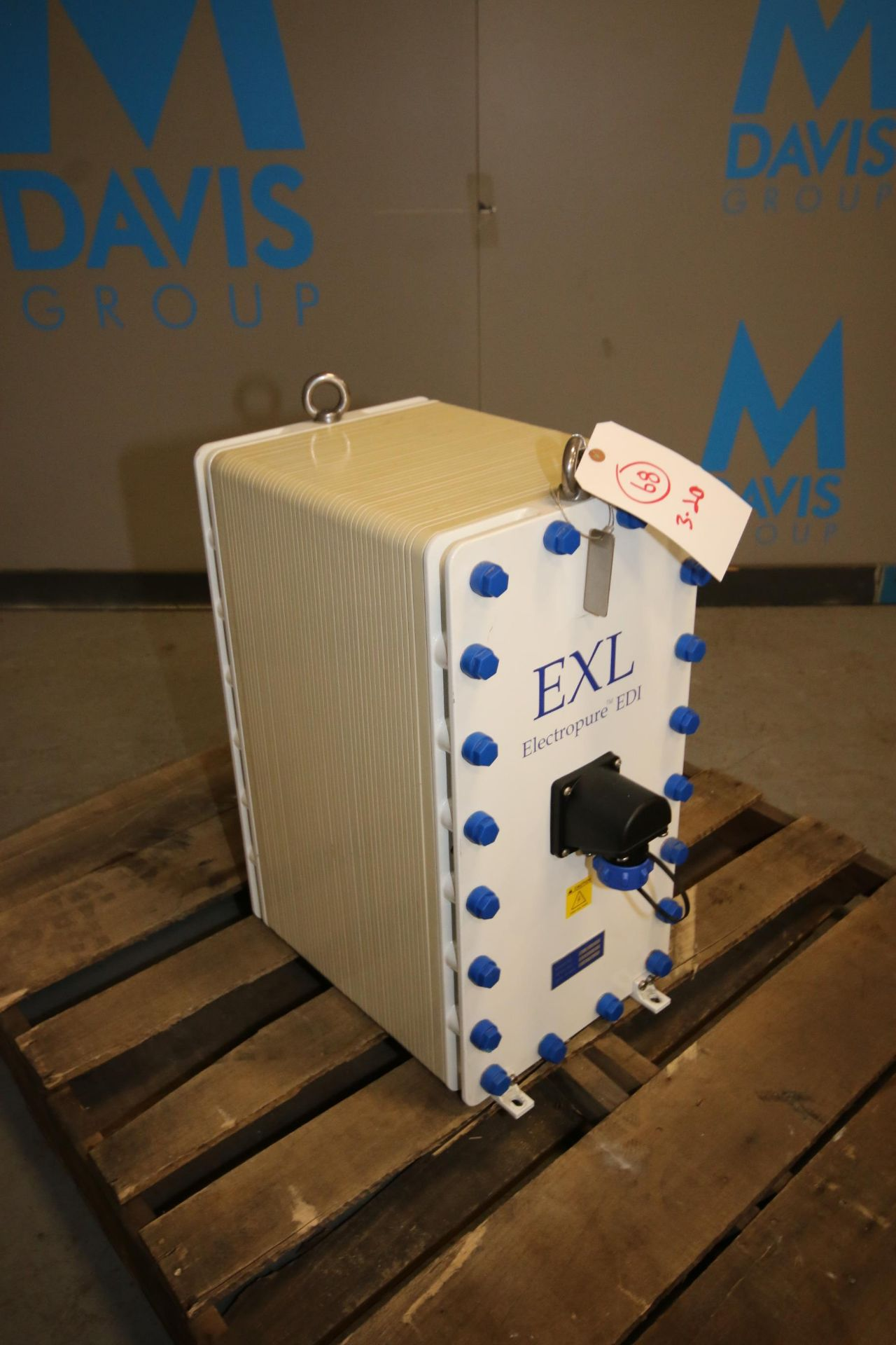 Lot 14 - ElectroPure Continuous Flow High Capacity EDI Water Module, M/N EXL-710-HTS, S/N 1710012, Low