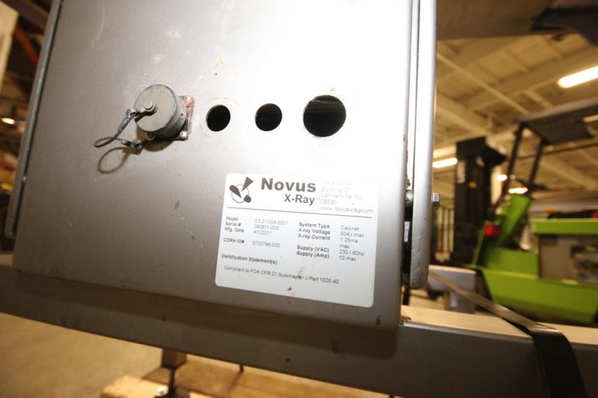"Lot 9 - 2011 Novus S/S X-Ray, M/N C3.2-1006-5001, S/N 040811-000, with Control Screen, with Aprox. 15"" W x"