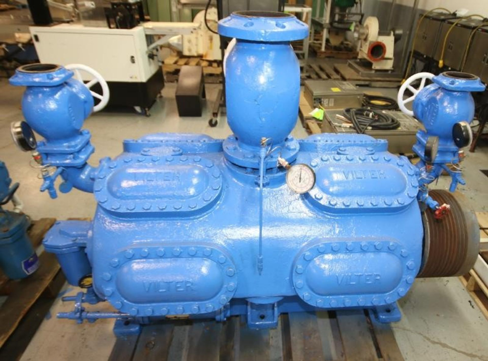 Lot 23 - Vilter 16 - Cylinder Reciprocating Ammonia Compressor Head, Size A11B4416B, SN 21056, Order No. D-
