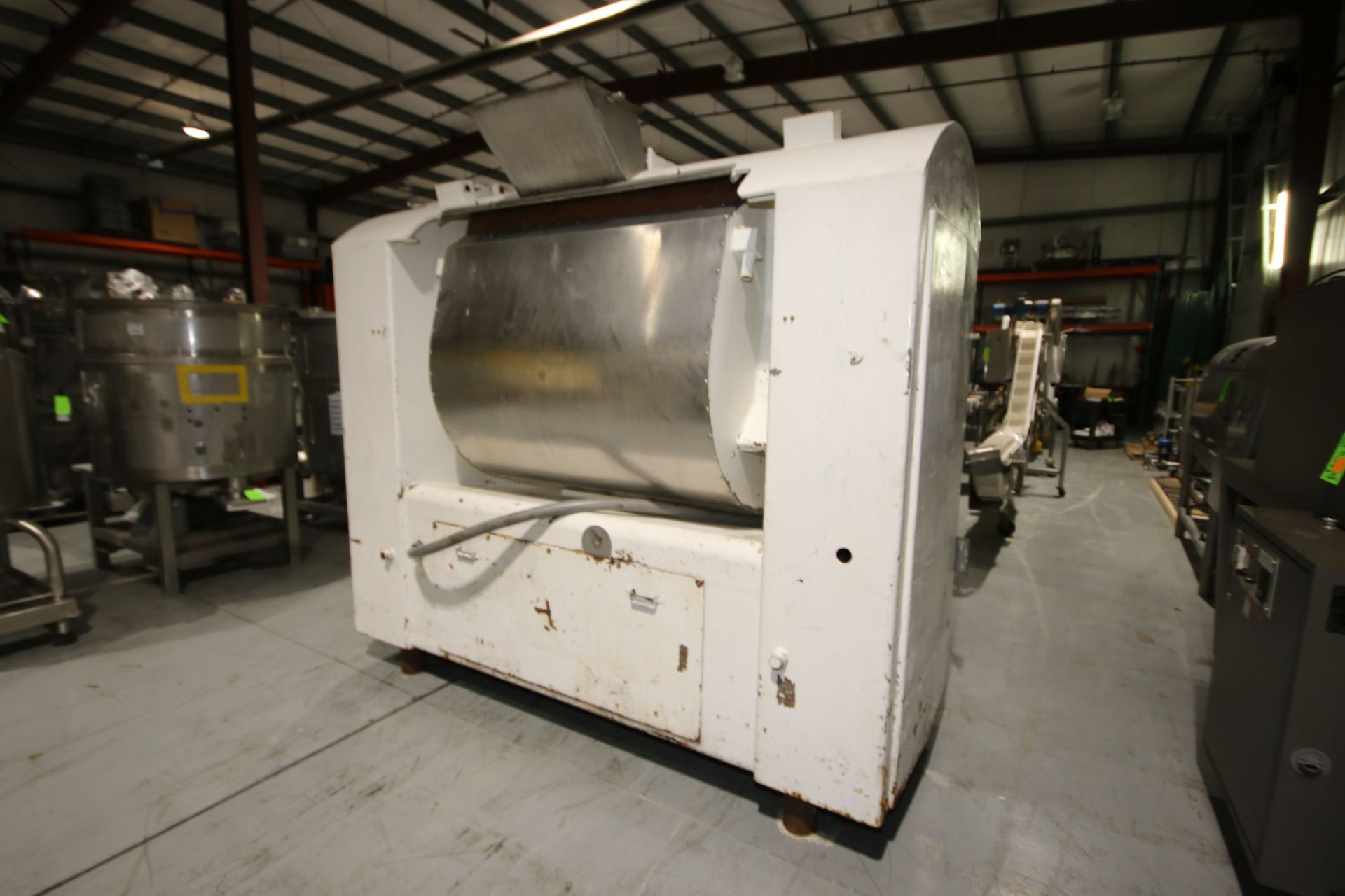 Lot 28 - Day Double Wall Single Arm S/S Dough Mixer, S/N 81306, with S/S Agitation Shaft, with Top Mounted
