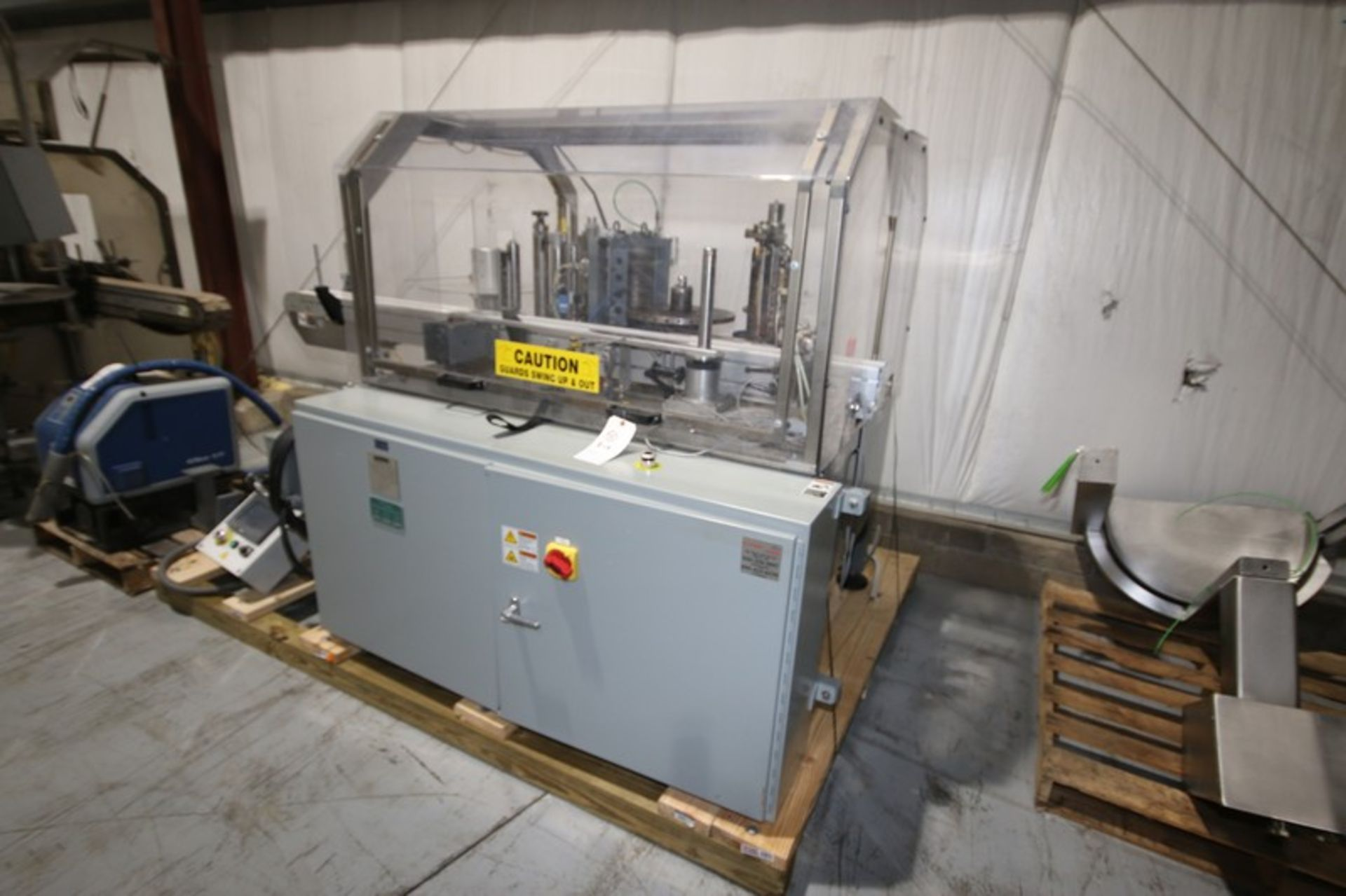 Lot 12 - 2011 Trine Labeler, M/N 4400, S/N MSN07084 18,500.00, with PLC Controls, with Allen Bradley