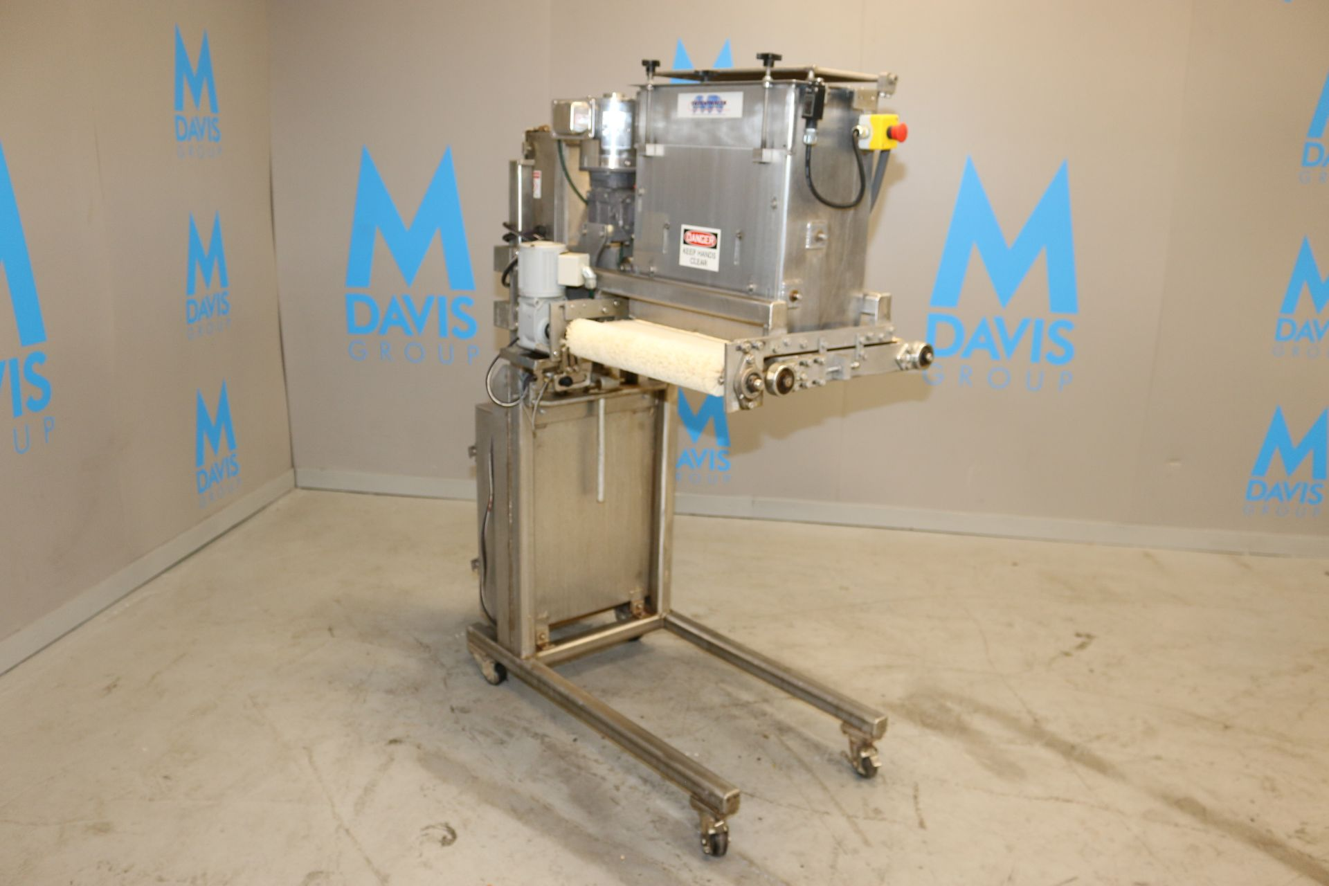 Lot 47 - Tiefenthaler Machinery Co. S/S Dry Goods Depositor, with Sterling 1/2 hp S/S Clad Drive, with Aprox.