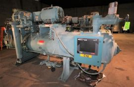 1998 Frick hp 250 hp Screw Ammonia Compressor, Frame Model RWBII316B, SN S0416TFMFL0AA03, Screw Head