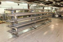 FranRica 14-Pass Dimpled Tube Heat Exchanger, M/N OES01-CX-01, PAT. #: 5.375.654, Overall Dims.: