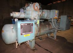 2000 Frick hp 350 hp Screw Ammonia Compressor, Frame Model RWF 134 H, SN F0057UFMNLIGA03, Screw Head